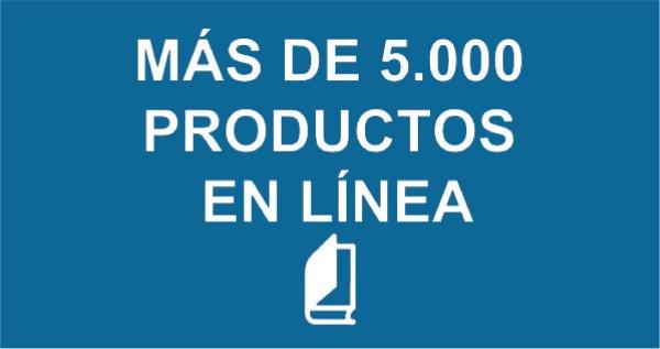 Más de 5000 productos