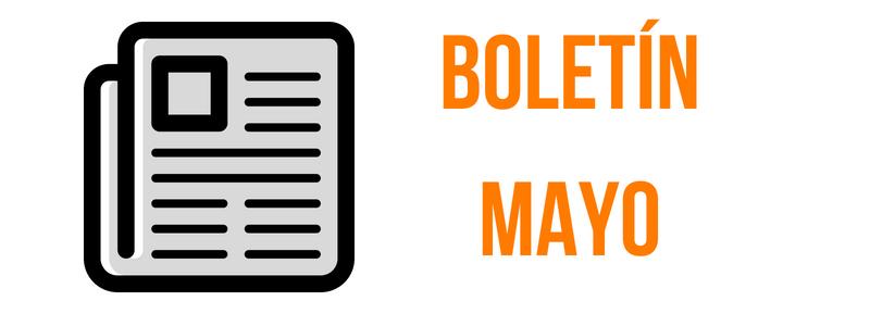 Boletín de Presa Mayo 2018