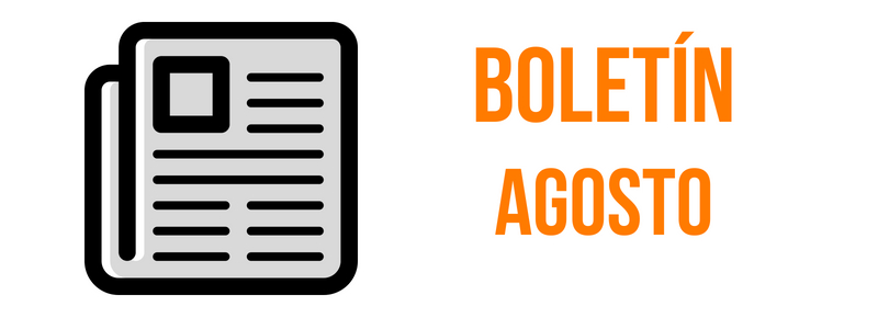 BOLETIN AGOSTO 2018