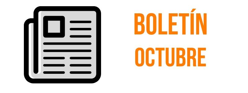 BOLETÍN OCTUBRE 2018