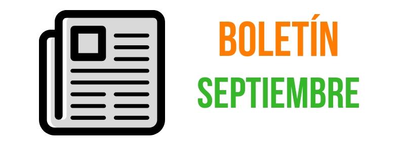 Boletín Agosto - Septiembre