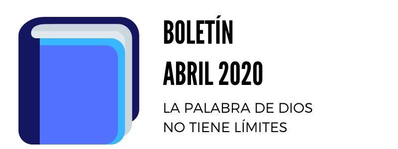 CLC COLOMBIA VIRTUAL - Boletín de Abril 2020
