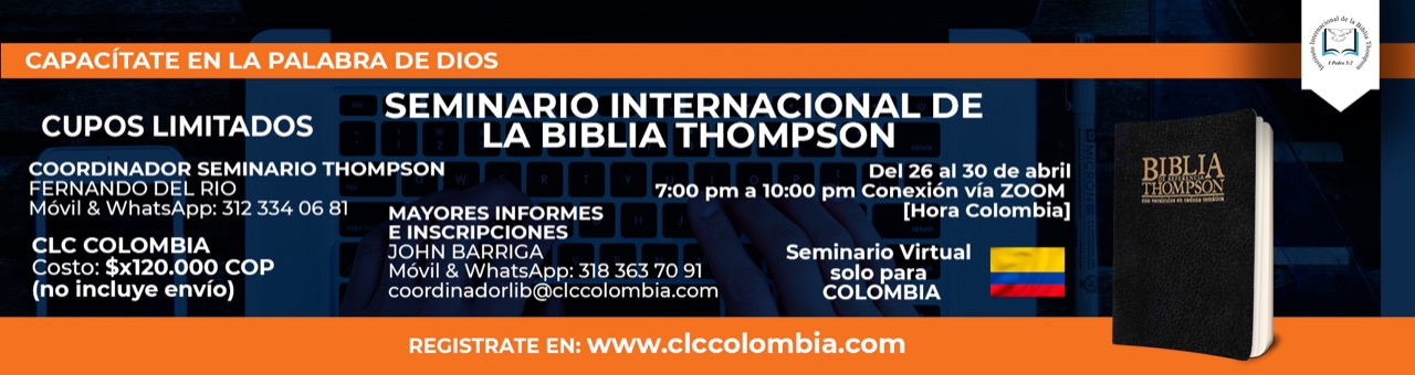 7 Thompson Colombia 26 de abril