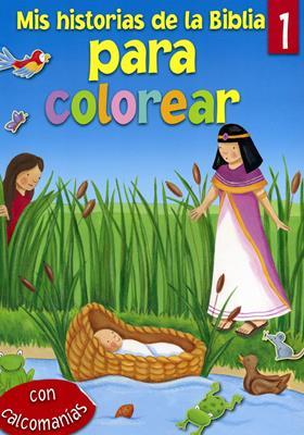 Mis Historias de la Biblia para Colorear - Tomo 1
