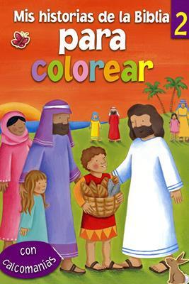 Mis historias de la biblia para colorear - Tomo 2