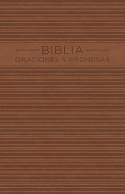 Biblia oraciones y promesas (piel)