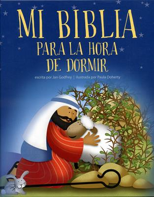Mi Biblia pra la hora de dormir (Tapa dura) [Libro]