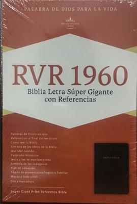 Biblia de Letra Súper Gigante (Piel) [Biblia]
