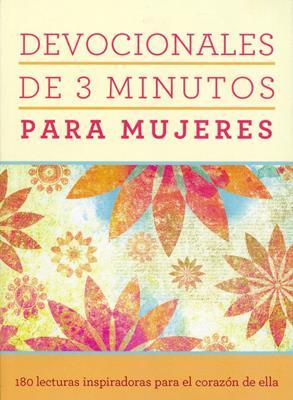 Devocionales de 3 minutos para mujeres (Rústica) [Bolsilibro]