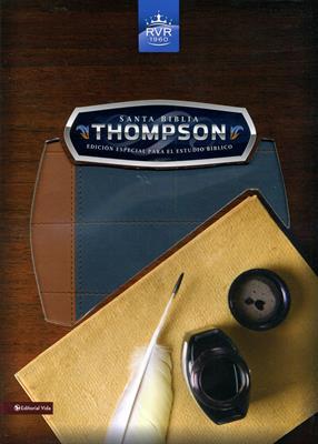 Biblia de estudio Thompson - Hombre (Piel) [Biblia]
