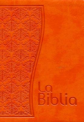 Biblia mujer naranja (Flexible) [Biblia]