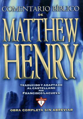 Nuevo comentario Matthew Henry 13 Tomos en 1