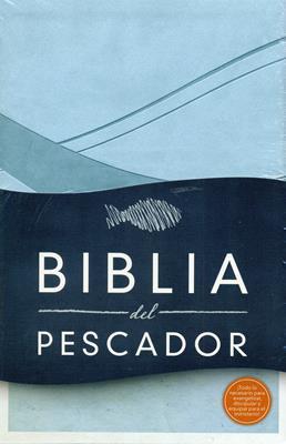 Biblia del pescador - Azul cobalto (Piel) [Biblia]