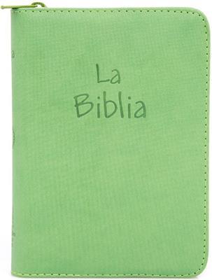Biblia flexible cierre verde oliva (flexible)