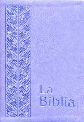 Biblia flexible lila plateada (flexible)