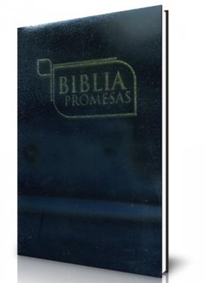 Biblia  promesas semi flexible negro (semi flexible)