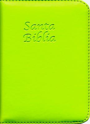Santa Biblia cierre concordancia verde (semi flexible)
