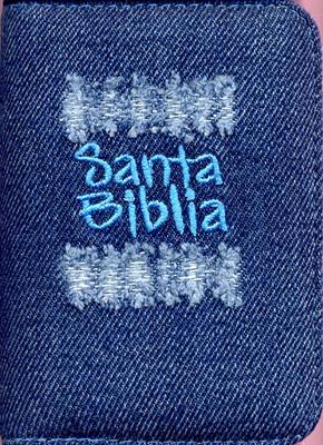 Biblia desgaste azul con cierre (JEAN) [Biblia]