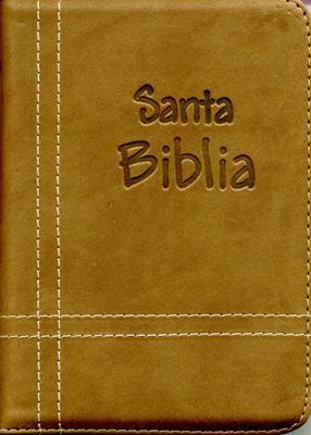 Biblia Cosida Café - Cierre (IMITACIÓN PIEL) [Biblia]