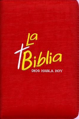 Biblia bordada roja