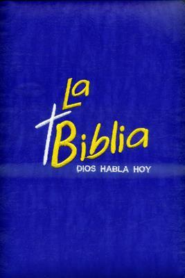Biblia bordada azul [Calendario]