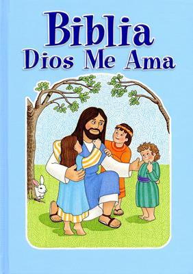 Biblia Dios me ama niños (Tapa dura) [Biblia]