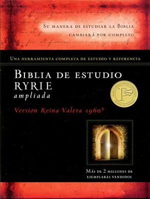 Biblia de estudio Ryrie ampliada (Tapa Dura) [Biblia]