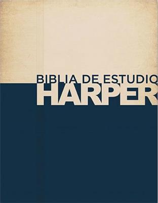 Biblia de estudio Harper (Tapa Dura)