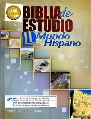 Biblia de estudio, Mundo Hispano (Tapa Dura)