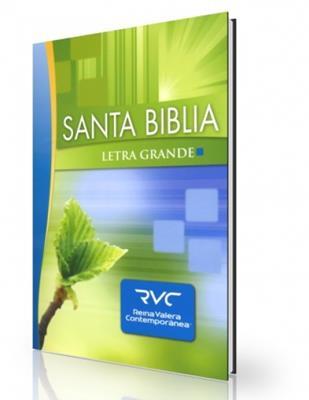 Santa Biblia Letra grande  RVC (Tapa Dura)