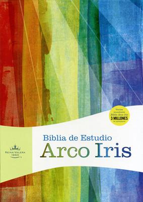 Biblia de estudio arco iris