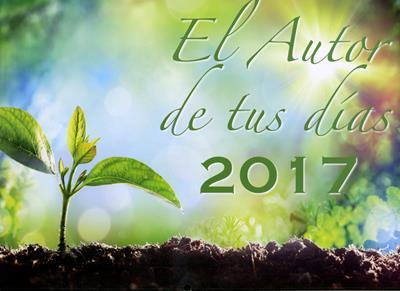 Calendario el autor de tus días 2017