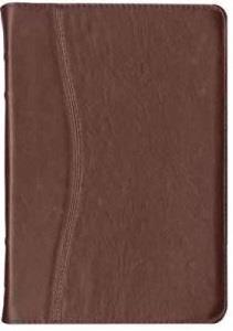 Biblia elegante vinotinto (CUERO) [Biblia]
