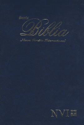Biblia tipo agenda azul (IMITACIÓN CUERO) [Biblia]