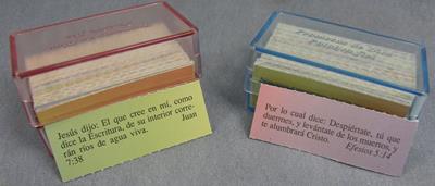 Caja Acrílica de Colores - RVR