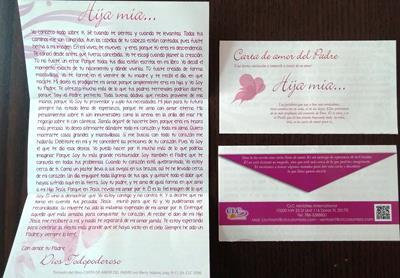 Carta de Amor del Padre para Mujeres x 100 unid (rustica) [Tratados]