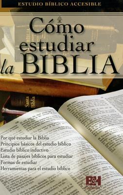 Cómo estudiar la Biblia (Rústica) [Folleto]