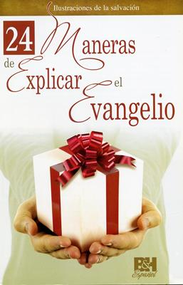 24 Maneras de Explicar el Evangelio (Plastificada) [Folleto]