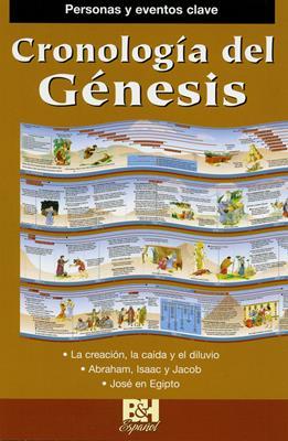Cronología Del Génesis (Plastificada ) [Folleto]