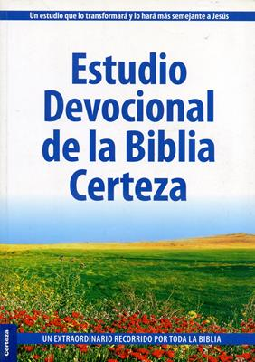 Estudio devocional de la biblia Certeza (Rústica) [Biblia de Estudio]