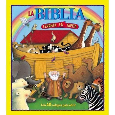 Biblia levanta la tapita (Rústica) [Libro]