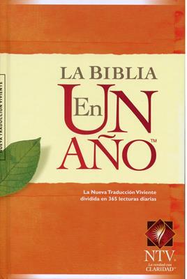 Biblia en un Año (Tapa Dura) [Biblia]