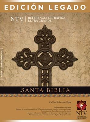 Santa biblia letra grande (Piel) [Biblia]
