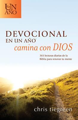 Devocional en un año camina con Dios (Rústica) [Devocional]