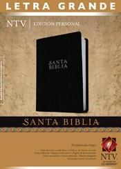 Biblia Edicion Personal Letra Grande Negro (Imitacion Piel )