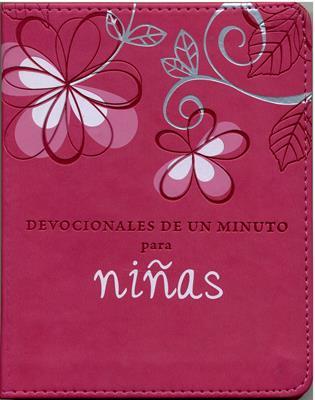 Devocionales de un Minuto para Niñas (Imitación Piel) [Libro]