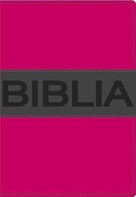 Biblia NVI Ultrafina Compacta Rosa Vital (Imitación Piel (Vinilo)) [Biblia]