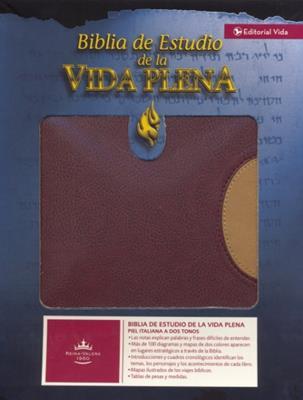 Biblia De Estudio/RVR Vida Plena (Imitación Piel )