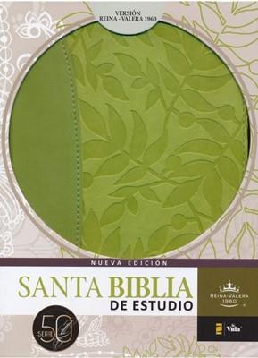 Biblia De Estudio Piel Verde