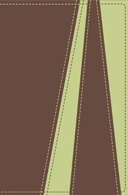 Biblia Regalo Marrón Verde Melón (Imitación Piel) [Biblia]